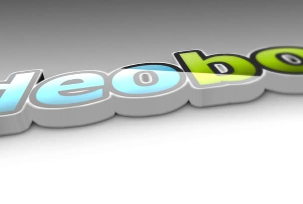 create PROFESSIONAL 3D logo animation in 1 day