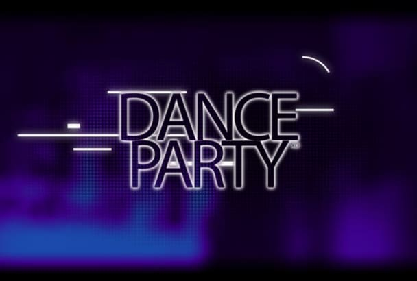 make Electronic Music Party Club Invitation Promo Video