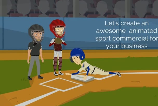 create bassball or any sport video