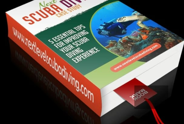 create Awesome 3D Cover Ebook or Text into a PDF Ebook