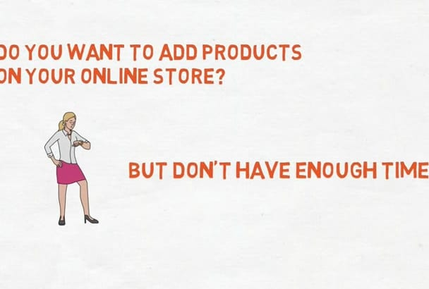 upload your 50 products on ecommerce sites