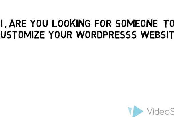 customize or fix wordpress theme