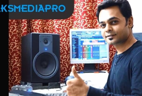record Male Voice over in English, Hindi, Gujarati