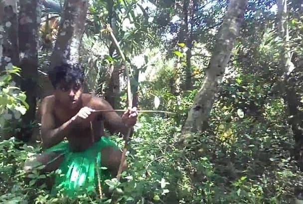 create CRAZY happy birthday video while hunting rabbit