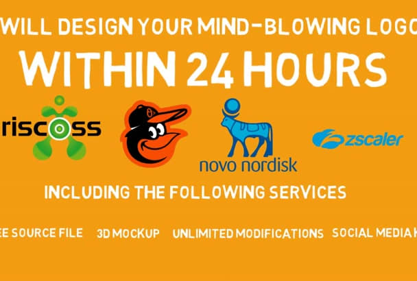 design MindBlowing Logo For You