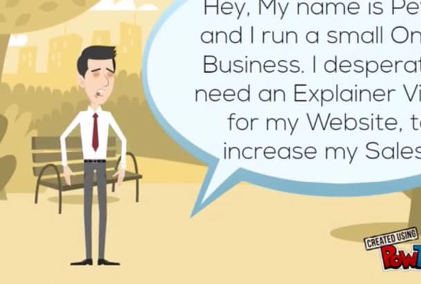 create an Enticing Explainer Animation or Sales Video
