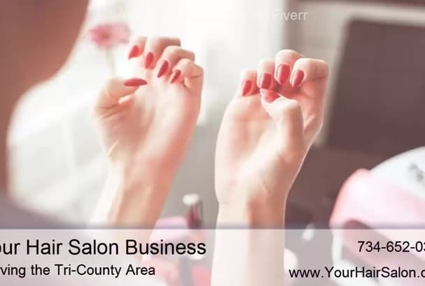 customize a Video for Local Hair Salons