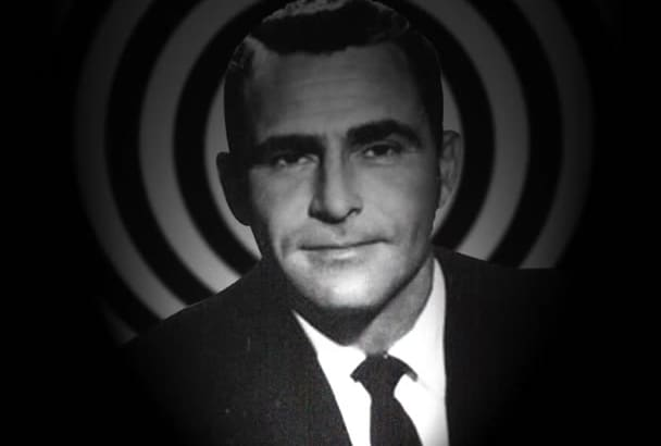 voice anything as Rod Serling from The Twilight Zone
