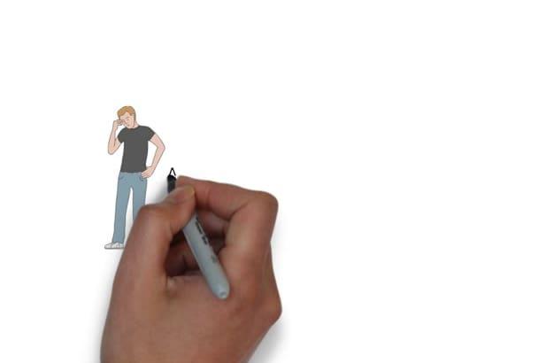 create a unique whiteboard animation video