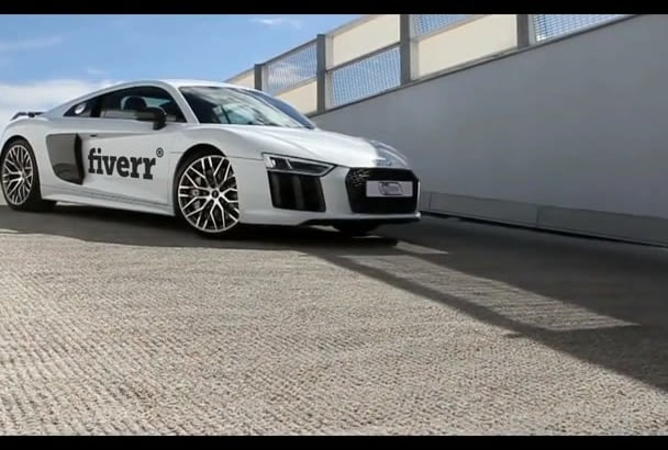 put Your Business Name, Logo on a Audi R8 Video