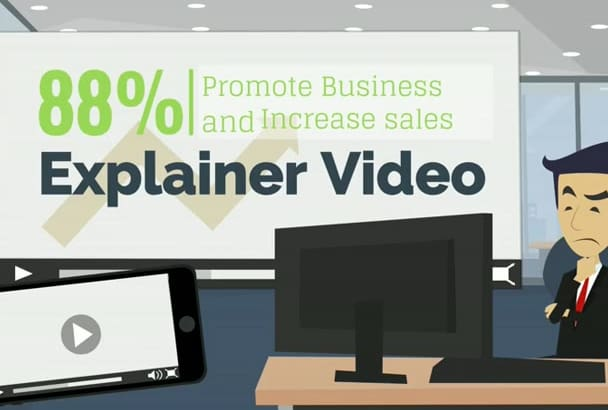 create Professional Animated explainer video