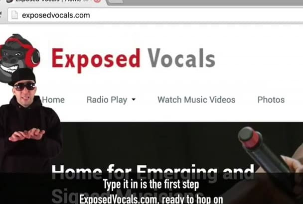 upload your music video to our amazing promotional platform