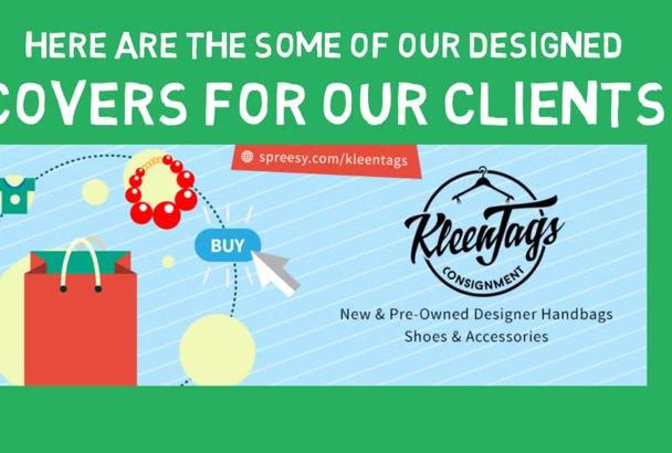 design any social media banner