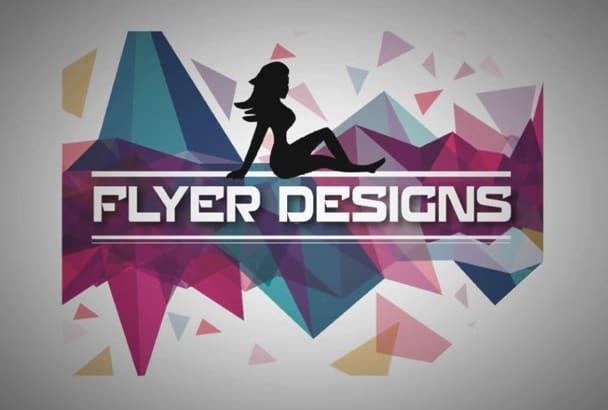 design Attractive Flyer, Brochure, Poster in 24 Hours