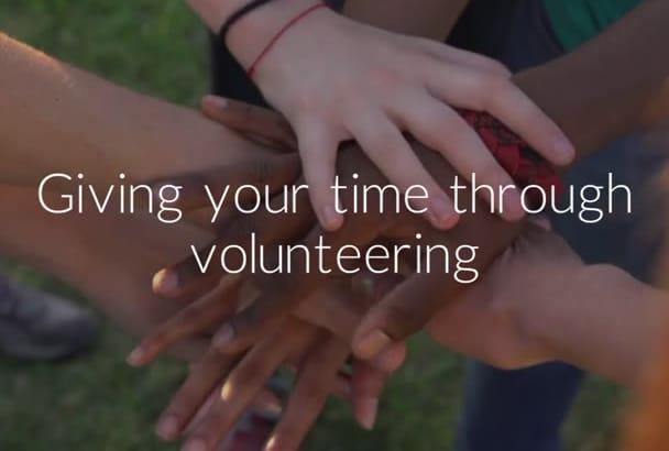 make a Charity Crowdfund Campaign Video
