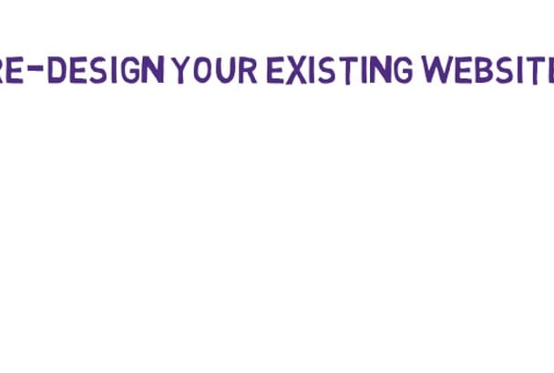 design an awesome PSD website template