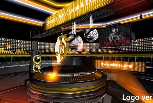 do a SPECTACULAR 3D audio visualizer for your song