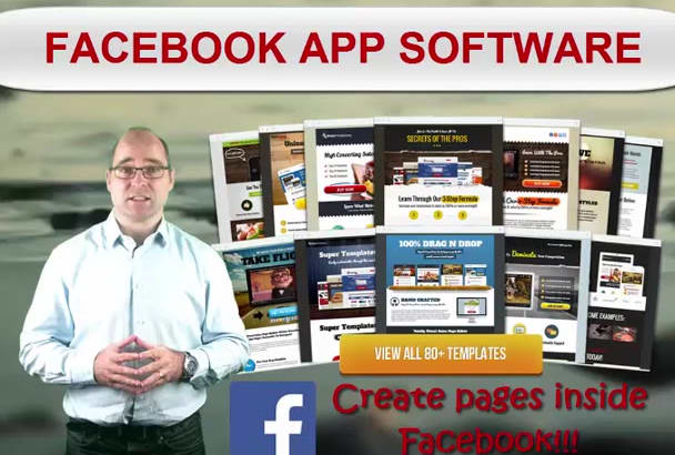 give you Facebook App Page Creation SOFTWARE