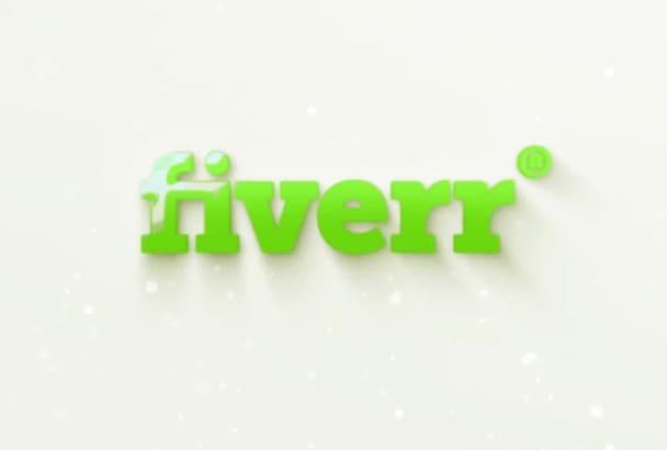 animate you awesome logo