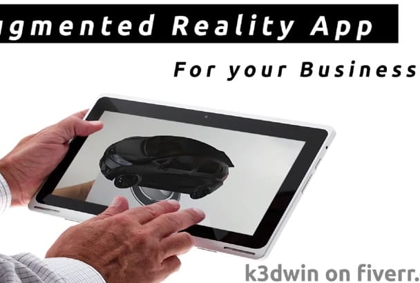 make your Business Logo into Awesome AR app