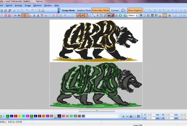 do Embroidery Digitizing in 3 hours