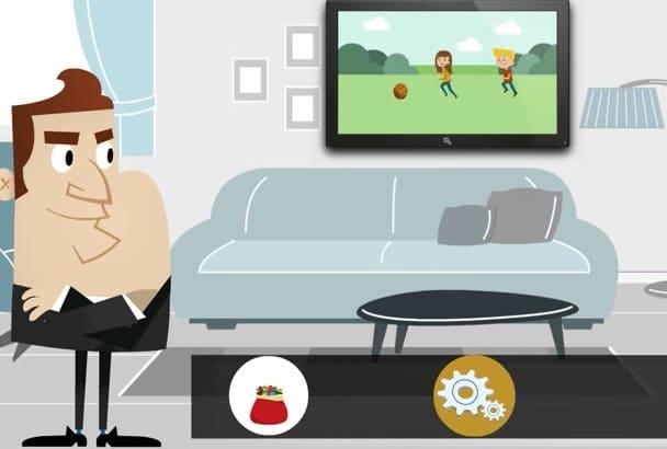 create 2D Animated Video