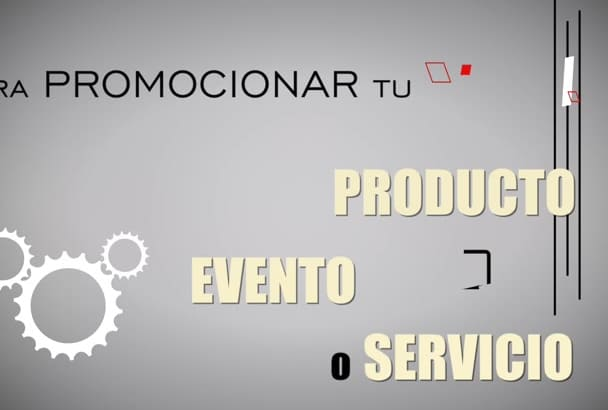 create a video to PROMOTE your business in Spanish