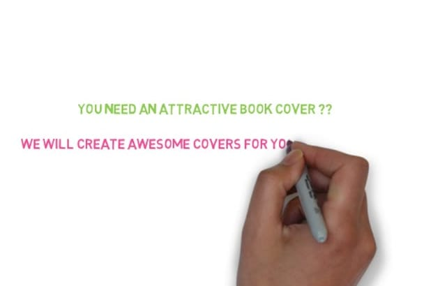 design awesome book cover in 3D
