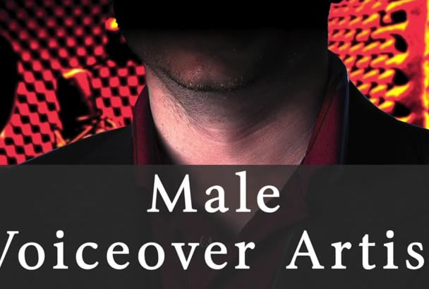 record YOUR Male Voiceover