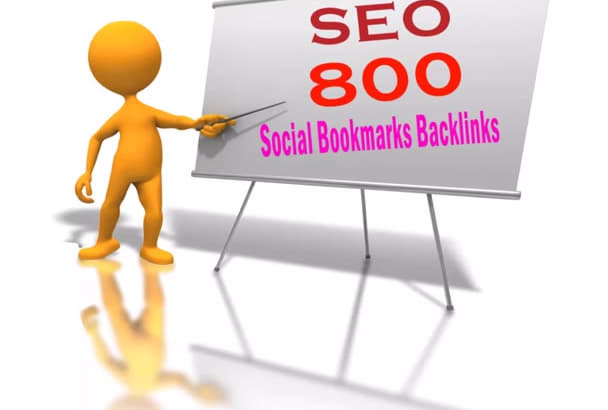add your site to 800 SEO social bookmarks backlinks, rss, ping