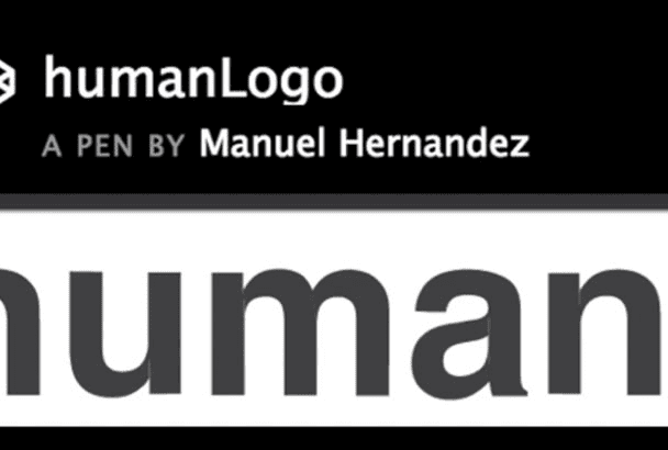 animate your text logo