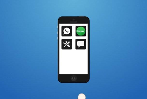 make mobile App PROMO video