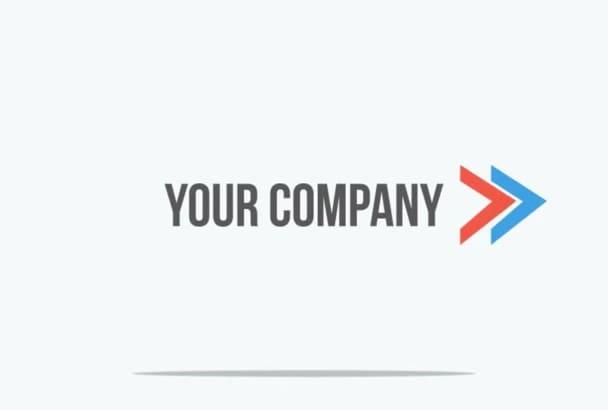 make 8 Professional Animated Logo Intros