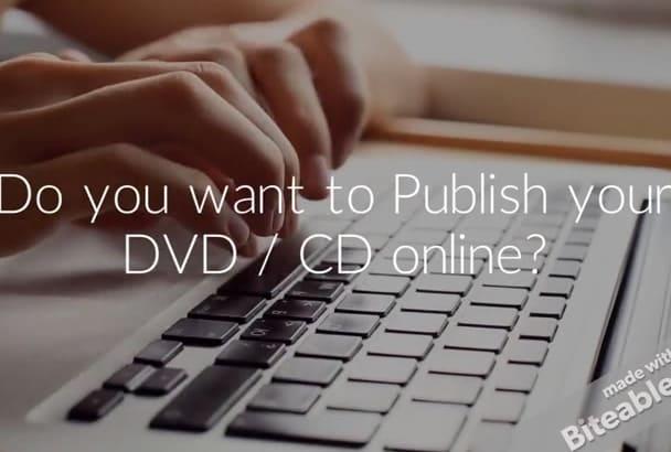 create eBook, DVD Cover with Kunaki, CreateSpace Standards