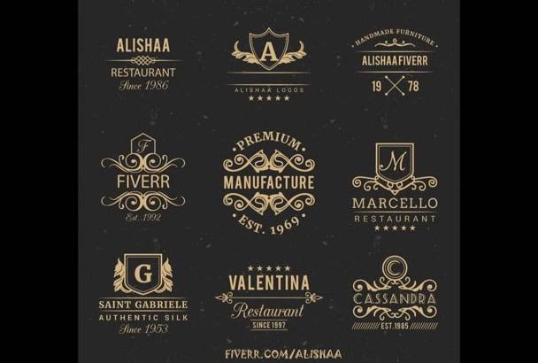 do Vintage Logo and Badge