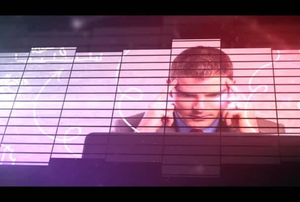 create equalizer intro video