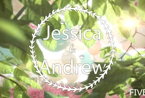 create an amazing wedding video