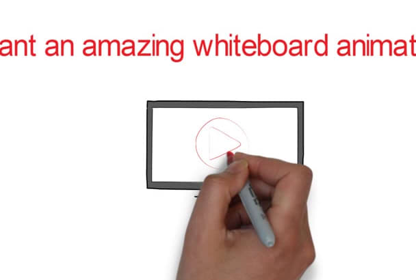 create amazing and professional whiteboard animation videos