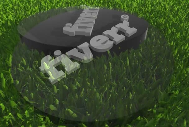 create a 3D intro out of your 2D logo