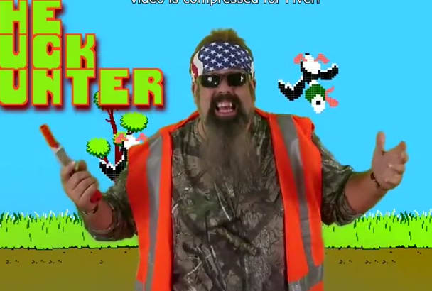 deliver you message as a Duck Dynasty parody