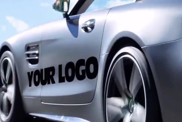 put Logo on This Brand New SUPER CaR PROMOTlNAL video