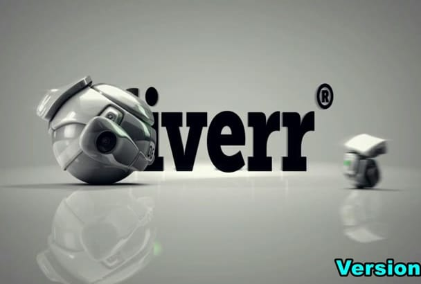 create this 3 different Robot logo bumpers INTRO animation