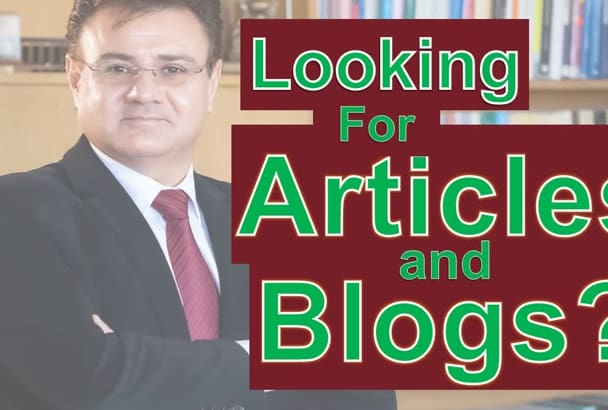 be SEO writer for Blog Posts and Articles