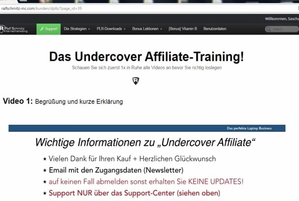 create german screencast video german testimonial