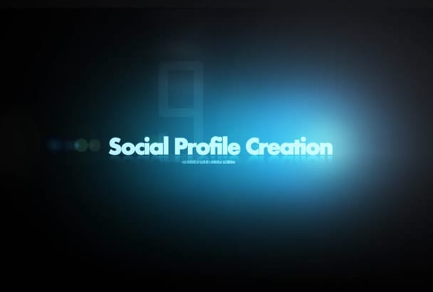 do Social Media Profile and Brand Page Creation