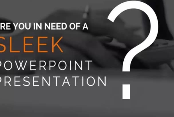 create Professional And Branded presentation in powerpoint