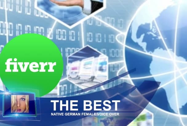 do the best native German female voice over production