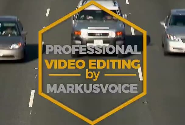 do high quality PROFESSIONAL video editing