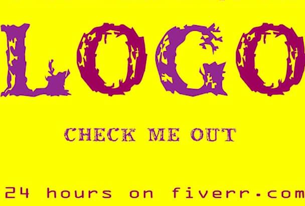 make 2 exceptional monogram or logo design