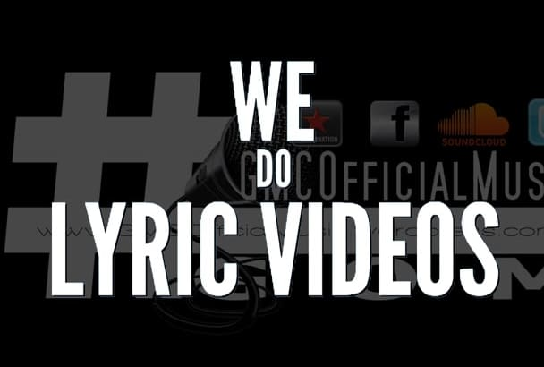create A Dope Lyric Typography Music Video to any song
